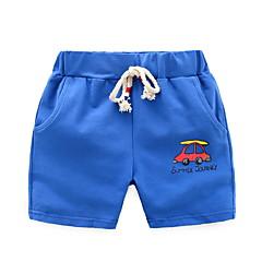 baratos Roupas de Meninos-Bébé Para Meninos Estampado Shorts