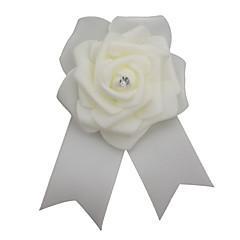 billige Motebrosjer-Herre Klassisk / Elegant Nåler - Blomst Europeisk, Romantikk Brosje Krem Til Bryllup / Fest