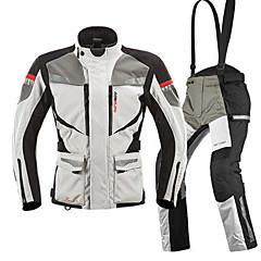 baratos Jaquetas de Motociclismo-MOTOBOY Roupa da motocicleta Conjunto de calças de jaqueta para Homens Oxford / Algodão Todas as Estações Impermeável / Resistente ao Desgaste / Proteção