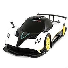 billige Fjernstyrte biler-Radiostyrt Bil 38010 1 Kanal 2.4G Bil 1:24 Børsteløs Elektrisk 10 km/h KM / H Ungdom