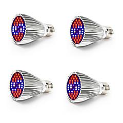 Χαμηλού Κόστους Φωτιστικά LED-4pcs 800-1200 lm E26 / E27 Καλλιέργεια λαμπτήρα 40 LED χάντρες SMD 5730 Πλήρες Φάσμα / Διακοσμητικό Άσπρο / Κόκκινο / Μπλε 85-265 V / RoHs / FCC