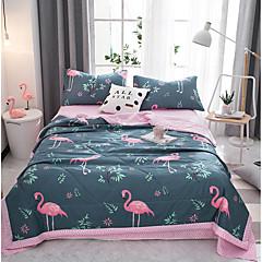 billiga Täcken och överkast-Bekväm - 1 st. Sängöverkast Sommar Polyester Tecknat