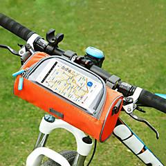 Mobilní telefon Bag   Brašna na řídítka 6 inch Dotyková obrazovka  Cyklistika pro Cyklistika Oranžová 8c00cd81a44