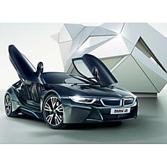 baratos Carros Controle Remoto-Carro com CR Rastar 71060 4CH 2.4G Carro 1:14 8.2 km/h KM / H USB / Controle Remoto / Luminoso
