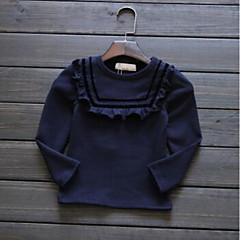 billige Jenteklær-Barn / Baby Jente Stripet Langermet T-skjorte