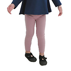 billige Babyunderdele-Baby Pige Basale Ensfarvet Leggings