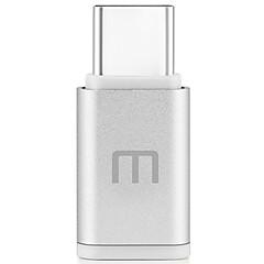 Χαμηλού Κόστους Αξεσουάρ Ήχου & Βίντεο-MEIZU USB 2.0 Τύπος C Μετασχηματιστή, USB 2.0 Τύπος C to Micro USB 2.0 Μετασχηματιστή Αρσενικό - Θηλυκό