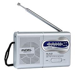 Χαμηλού Κόστους Ράδιο-BC-R119 Φορητό ραδιόφωνο MP3 player Άλλα Παγκόσμιος δέκτης Ασημί