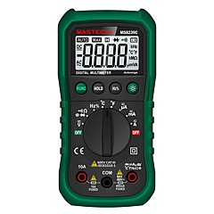 tanie Instrumenty elektryczne-Mastech ms8239c cyfrowy tester prądu stałego multimetr ac dc
