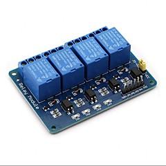voordelige -4-kanaals dc 5v relaismodule voor arduino raspberry pi dsp avr pic arm