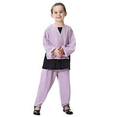 billige Tøjsæt til piger-Børn Pige Patchwork Langærmet Tøjsæt