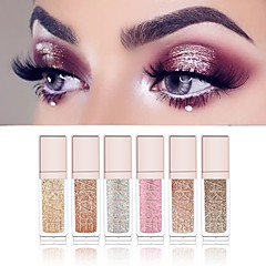 cheap Beauty & Hair-6 Colors Eyeshadow Liquid Glow Daily Makeup / Halloween Makeup / Party Makeup 1160 Cosmetic / Shimmer