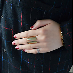 billige Motering-Dame Kryss-krop Åpne Ring - Geometrisk, Grunnleggende 7 Gull Til Daglig Stevnemøte