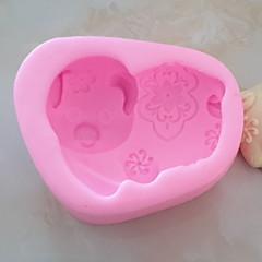 billige Bakeredskap-Bakeware verktøy Silikon Kreativ Kjøkken Gadget Originale kjøkkenredskap Cube Dessertverktøy 1pc