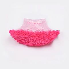 billige Pigenederdele-Børn / Baby Pige Farveblok Nederdel