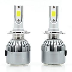 billige Kjørelys-SENCART 2pcs 880/892 / H7 / H3 Motorsykkel / Bil Elpærer 36 W Integrert LED / COB 3800 lm 2 LED / Halogen Tåkelys / Dagkjøringslys / Hodelykt Til