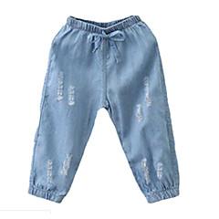 billige Drengebukser-Børn / Baby Drenge Ensfarvet Jeans