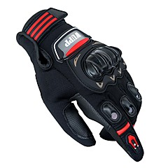 tanie Rękawiczki motocyklowe-Pełny palec Wszystko Rękawice motocyklowe Skóra / PVC (PCV) / Siateczkowa tkanina Ekran dotykowy / Oddychający / Ochronne