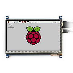 cheap -800x480, 7 inch Capacitive Touch Screen LCD, HDMI interface, supports various systems