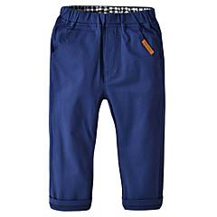billige Drengebukser-Børn / Baby Drenge Ensfarvet Bukser