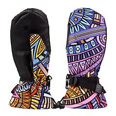 baratos Luvas de Motociclista-Dedo Total Mulheres Motos luvas Pano com Dupla Camada Prova-de-Água / Manter Quente / Protecção