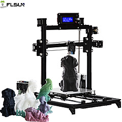 cheap -Flsun-C1 DIY 3D Printer KIT Large Printing Size 200*200*220mm Auto Level Heated Bed One Rolls Filament