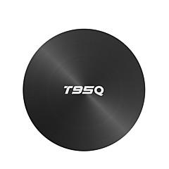 billige TV-bokser-PULIERDE T95Q PLUS Tv Boks Android 8.1 Tv Boks Amlogic S905X2 4GB RAM 64GB ROM Kvadro-Kjerne Nytt Design