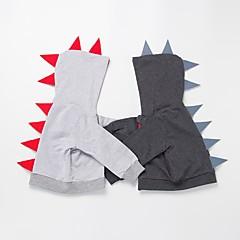 billige Overdele til drenge-Baby Drenge Aktiv / Basale Daglig / Ferie Ensfarvet Langærmet Normal Bomuld Bluse Mørkegrå 100