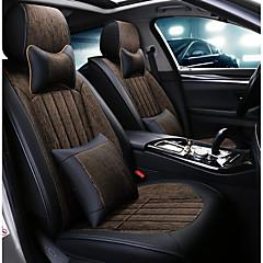 billige Setetrekk til bilen-ODEER Setetrekk til bilen nakkestøtter / Midjeputer / Setetrekk Svart / Brun tekstil / PU Leather Vanlig Til Universell Alle år Alle Modeller