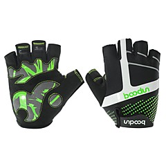 baratos Luvas de Motociclista-Meio dedo Unisexo Motos luvas Elastano Licra Respirável / Anti-desgaste / Antiderrapante
