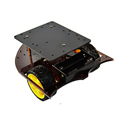 cheap -Smart Car Chassis 2WD Car Body Compatible with Arduino CR0025-1