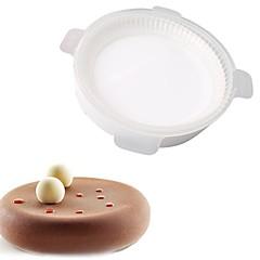 billige Bakeredskap-Bakeware verktøy Silikon Gummi GDS Til Kake Rund Cake Moulds 1pc