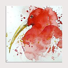 billiga Oljemålningar-Hang målad oljemålning HANDMÅLAD - Abstrakt Popkonst Moderna Utan innerram