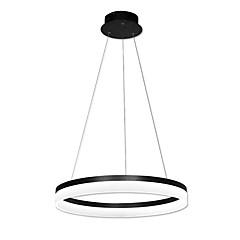 tanie Dekorativní osvětlení-Okrągły Lampy widzące Światło rozproszone Malowane wykończenia Metal Akryl LED 90-240V Ciepła biel / Biały Źródło światła LED w zestawie / LED zintegrowany