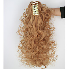 cheap Wigs & Hair Pieces-Ponytails Hair Piece Curly Classic Synthetic Hair 18 inch Hair Extension Daily