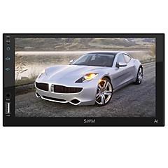 billiga DVD-spelare till bilen-SWM SWM-A1 7 tum 2 Din Övrigt / Android 8.1 Bil MP5 Player / Bil MP4 Player / Bil MP3-spelare Pekskärm / Micro USB / MP3 för Universell MicroUSB Stöd MPEG / AVI / MPG Mp3 / WAV / OGA JPEG / bmp / png