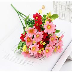 billige Kunstige blomster-Kunstige blomster 4.0 Gren Klassisk Rustikk Bryllup Kurvplante Bordblomst