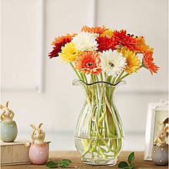 billige Kunstige blomster-Kunstige blomster 10 Gren Klassisk Scenerekvisitter Bryllup Kurvplante Bordblomst