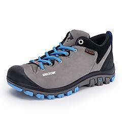 billige Skotøy og tilbehør-Sleader Outdoor S13006 Unisex Hikingsko Gummi / PU (polyuretan) Camping & Fjellvandring / Vandring / Løp Anti-Skli, Ultra Lett (UL), Utendørs Polyuretan / Tyll kaffe / Mørkegrå