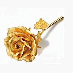 billige Kunstige blomster-Kunstige blomster 1 Gren Europeisk Stil Roser Bordblomst