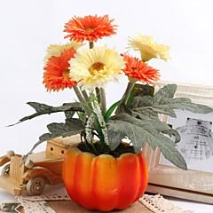 billige Kunstige blomster-Kunstige blomster 1 Gren Klassisk Moderne Moderne Kurvplante Bordblomst