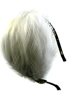 preiswerte Stirnbänder-Krystall Feder Stoff Aleación Tiaras Stirnbänder 1 Hochzeit Besondere Anlässe Party / Abend Normal Draussen Kopfschmuck