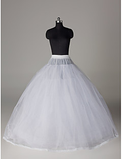 Wedding Special Occasion Slips Nylon Tulle Netting Floor-length Ball Gown Slip With