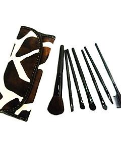 billige Sminkebørstesett-7pcs Makeup børster Profesjonell Børstesett Geitehår børste / Nylon Børste / Andre Klassisk / Middels børste / Liten børste