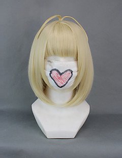 billiga Anime/Cosplay-peruker-Cosplay Peruker Blue Exorcist Shiemi Moriyama Brun Animé Cosplay-peruker 16 tum Värmebeständigt Fiber Dam halloween Peruker