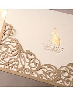 voordelige Uitnodigingen Aanbiedingen-Wikkelen & Verpakking Uitnodigingen van het Huwelijk Uitnodigingskaarten Formele Stijl Klassieke Stijl Bruid & Bruidegom Stijl Parel