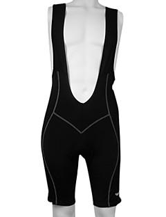 Kooplus Shorts med seler til sykning Herre Sykkel Sykkelshorts Med Seler Shorts Bunner Fort Tørring Pustende Refleksbånd 3D Pute 100%