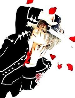 """Inspirert av Vampyr Ridder Ichiru Kiryu Anime  """"Cosplay-kostymer"""" Cosplay Klær Skoleuniformer Lapper LangermetFrakk Vest Trøye Bukser"""