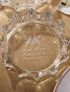 Χαμηλού Κόστους Κρυστάλλινα Αγαλματίδια-εξατομικευμένη περιστέρι σχεδιασμό από γυαλί τασάκι