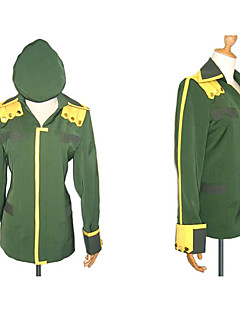 cheap Anime Cosplay-Inspired by Suzumiya Haruhi Itsuki Koizumi Anime Cosplay Costumes Cosplay Tops/Bottoms Patchwork Long Sleeves Coat Hat For Men's